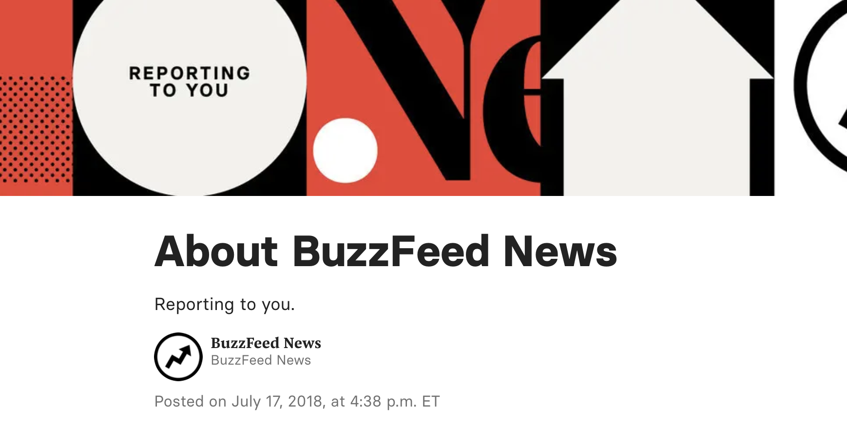BuzzFeed News - Page A propos